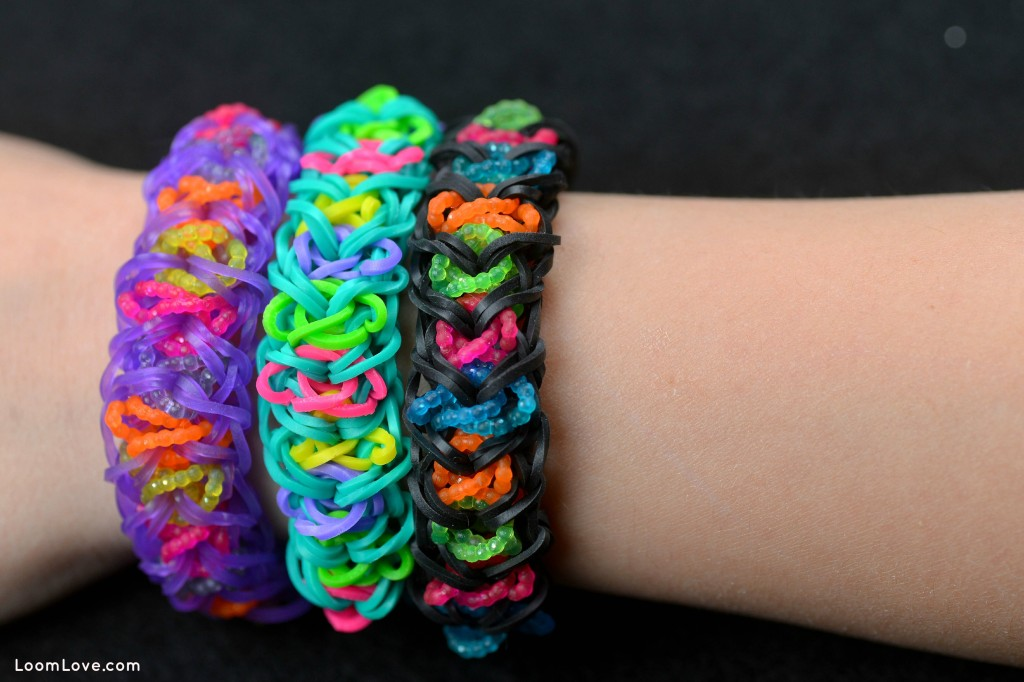 rainbow loom electric arrow