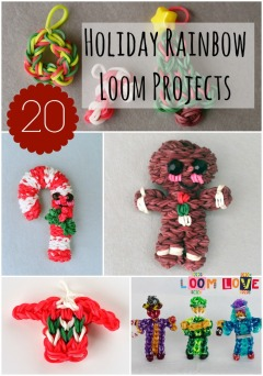 rainbow loom projects