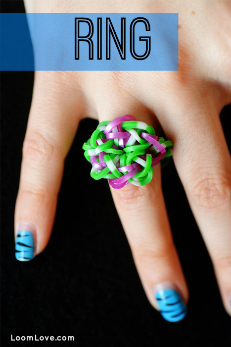 rainbow loom ring