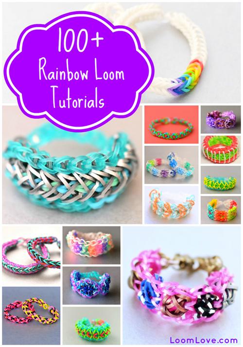 100 Rainbow Loom Tutorials At Loomlove