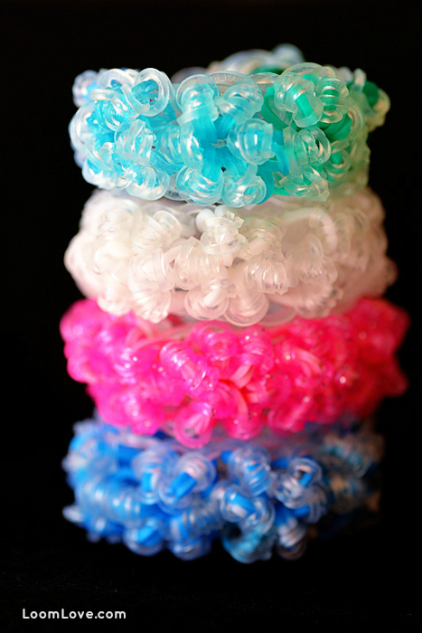 rainbow loom rock candy