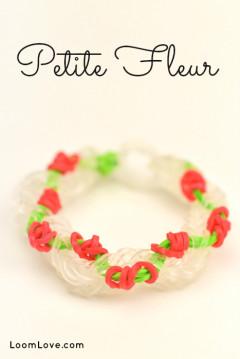 petite fleur rainbow loom