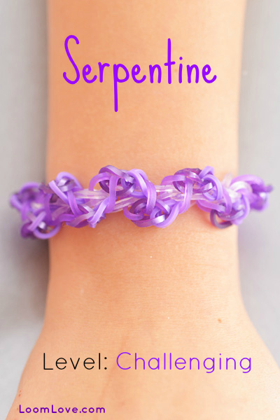 serpentine rainbow loom
