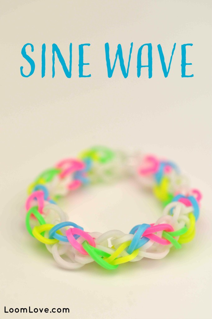 sine wave rainbow loom