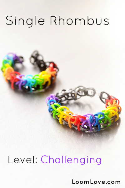 Triple single Rainbow Loom | Rainbow loom | Pinterest