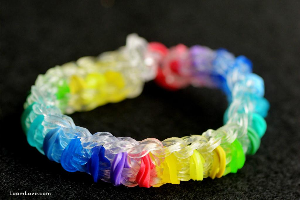 skittles rainbow loom