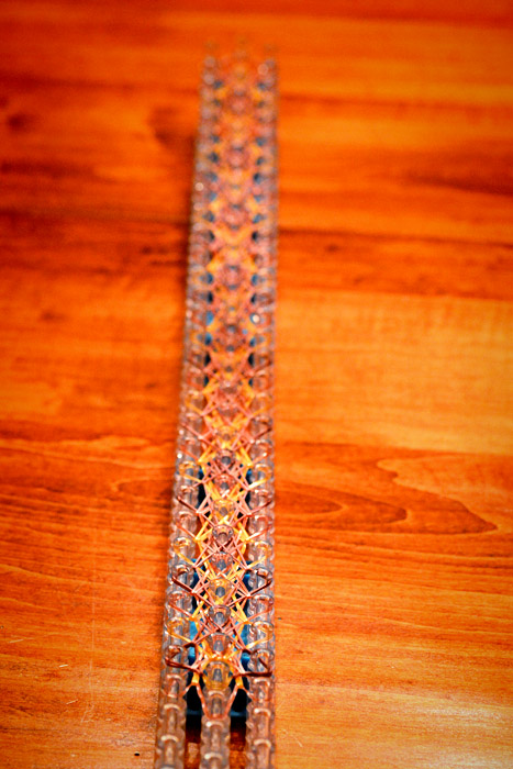 How To Make A Small Basket Weave Loom Bracelet : How to make a small basket weave bracelet