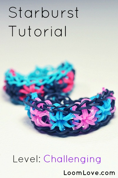 How To Make A Starburst Bracelet