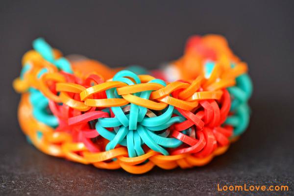 starburst rainbow loom