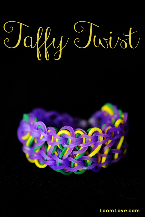 taffy twist rainbow loom