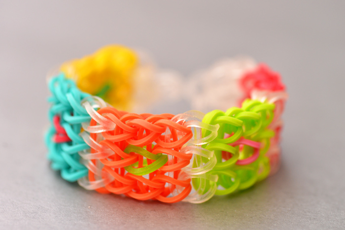 the cube rainbow loom
