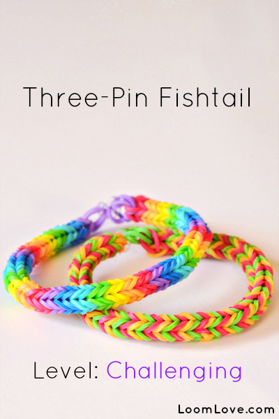 three pin fishtail