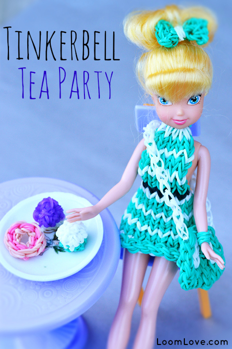 tinkerbell tea party