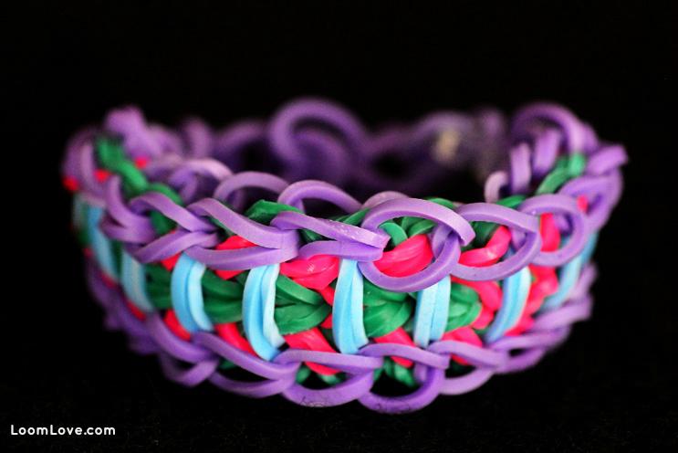 trapped warrior rainbow loom