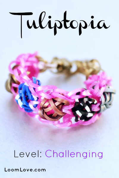 tulitopia rainbow loom design