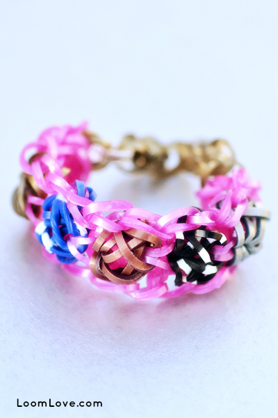 tuliptopia rainbow loom text