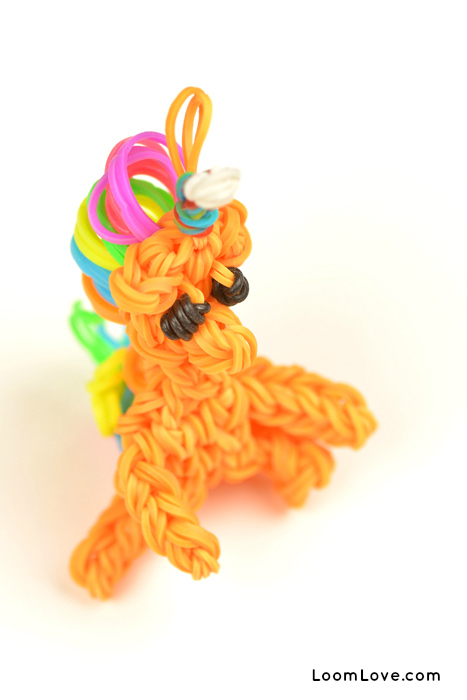 Rainbow Loom Amigurumi Unicorn : How to Make a Rainbow Loom Unicorn