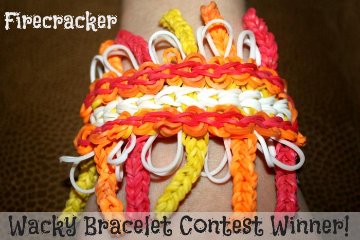 wacky bracelet contest winner