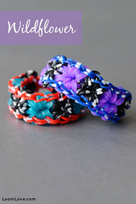 wildflower rainbow loom