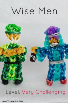 wise men rainbow loom