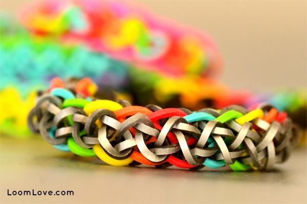 ziagonal loom bracelet