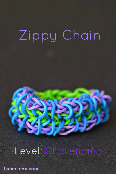 zippy chain bracelet