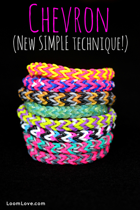 How To Make A Chevron New Simple Technique