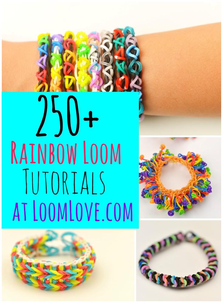 250 Loom Band Designs At Loom Love