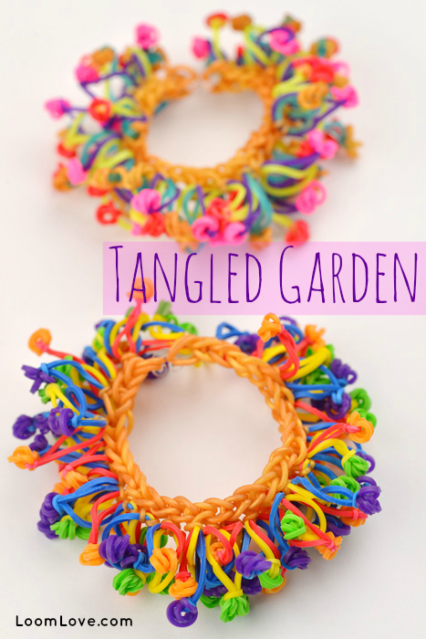 Tangled Garden Bracelet Or Anklet Without A Rainbow Loom